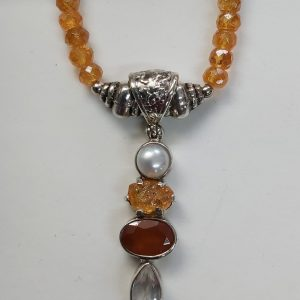 Item 105NS Spessartine with pendant