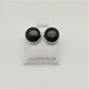 Item 111EO Obsidian studs
