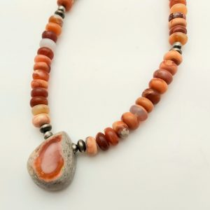 Item 125NF Fire Opal with Pendant