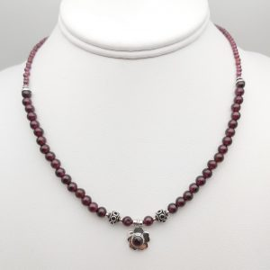 Item 130NG Garnet with pendant