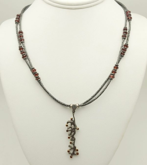 Item 134NH Hematite with Pendant