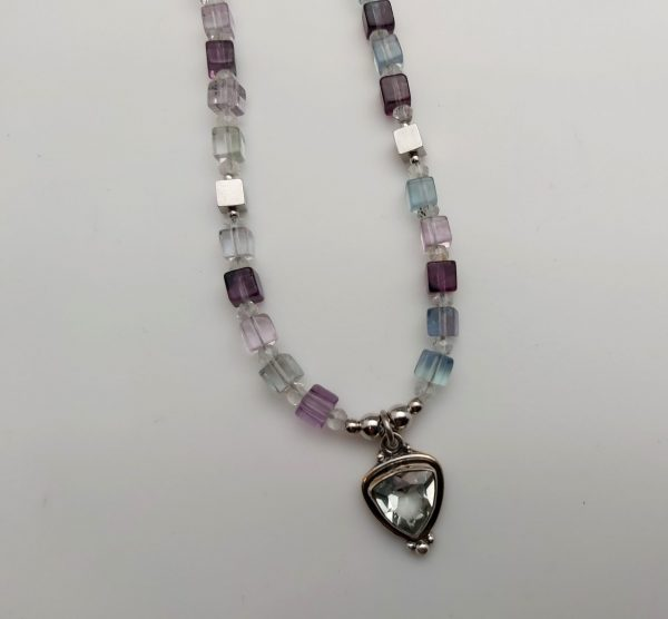 Item 143NF Fluorite with Pendant