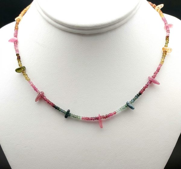 """Item 146NT Tourmaline with """"drops"""""""