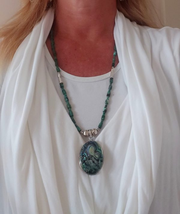 Item 150NT Turquoise with Pendant