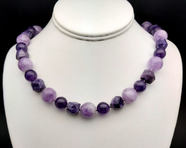 Item 153NA Amethyst Charoite combination