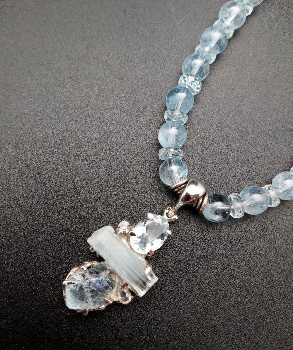 Item 154NA Aquamarine with Pendant