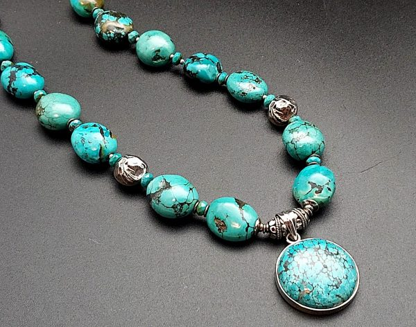Item 157NT Turquoise with pendant