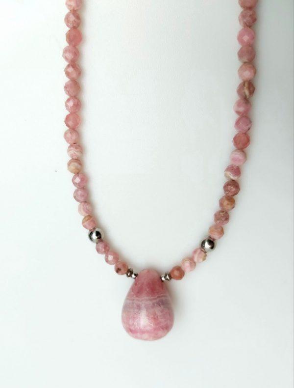 Item 171NR Rhodochrosite with pendant