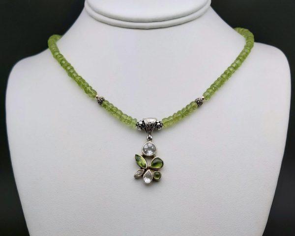 Item 173NP Peridot with pendant
