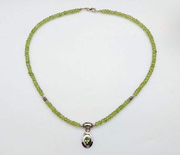 Item 174NP Peridot with pendant