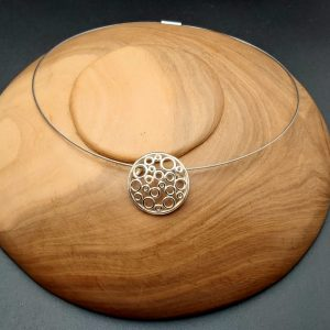 "Item 107SP ""Round rounds"" pendant"