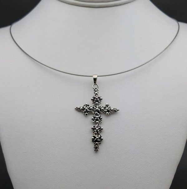Item 110SP Cross pendant