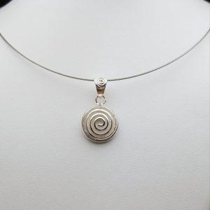 Item 112SP Swirl pendant