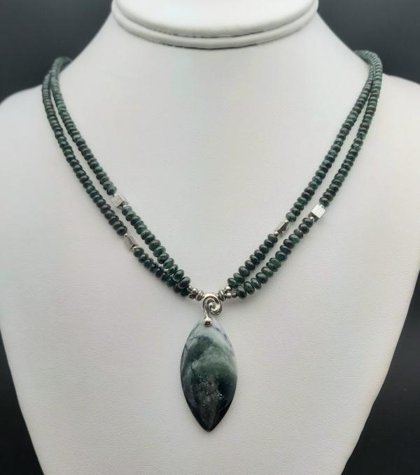 Item 355NE Emerald with Tourmaline