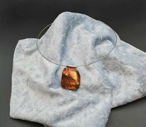 Item 166PA Ammolite of Ammonite