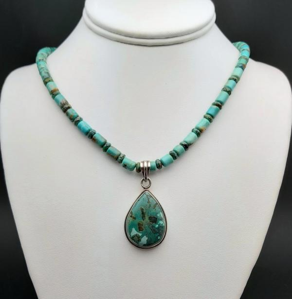 Item 370NT Turquoise with pendant
