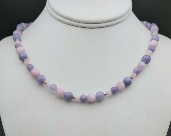 Item 378NK Kunzite with Lavender Quartz