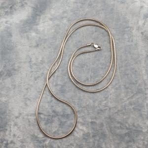 Item 118SN Silver Snake necklace