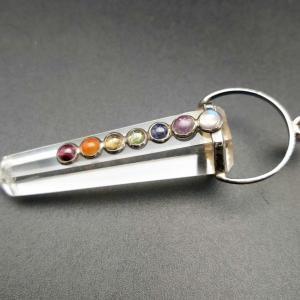 Item 170PQ Quartz Chakra pendant