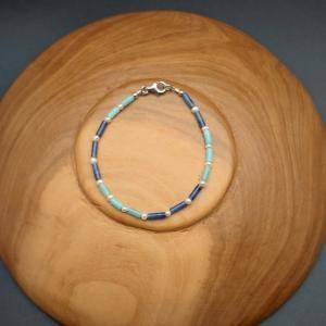 Item 187BA Amazonite/Sodalite/Freshwater Pearl