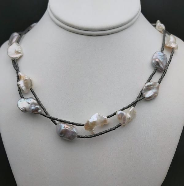 Item 400NP Pearl/Hematite